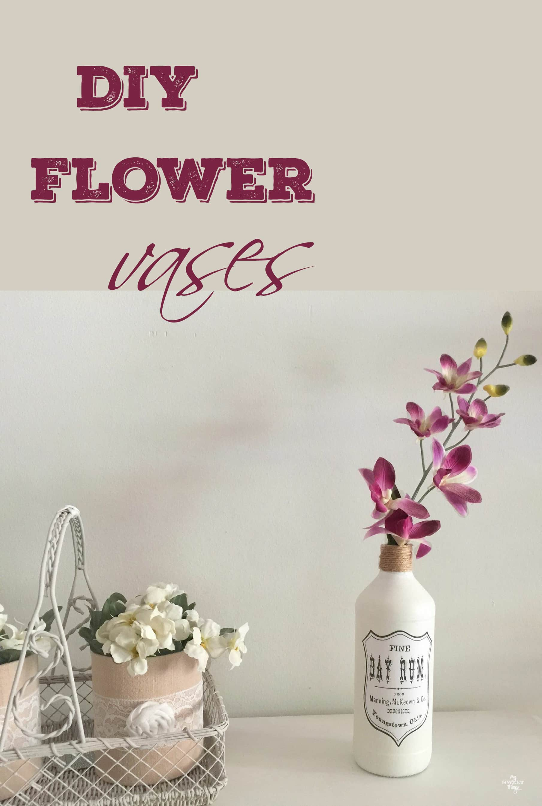 DIY Flower Vases