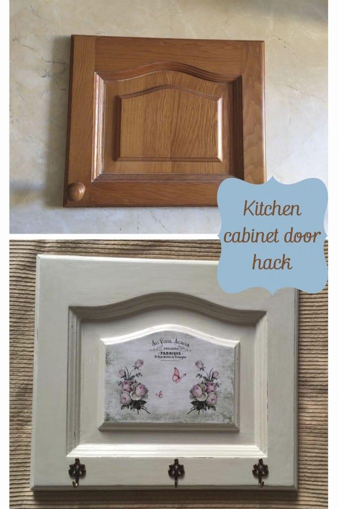 Kitchen cabinet door hack