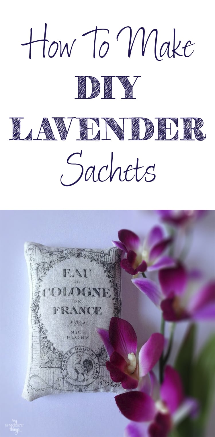 How to make DIY lavender sachets, an easy and inexpensive craft  ·  Via www.sweethings.net
