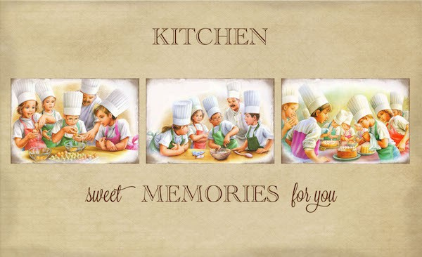 Kitchen Memories Print