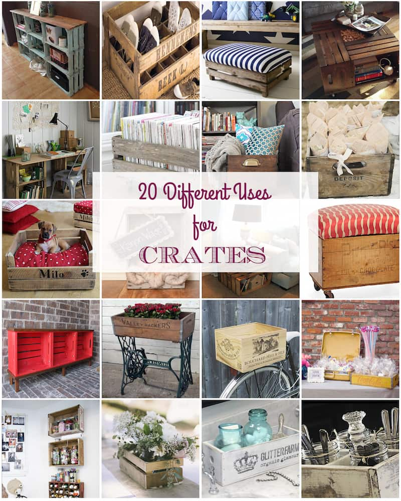 20 Different Uses for Crates