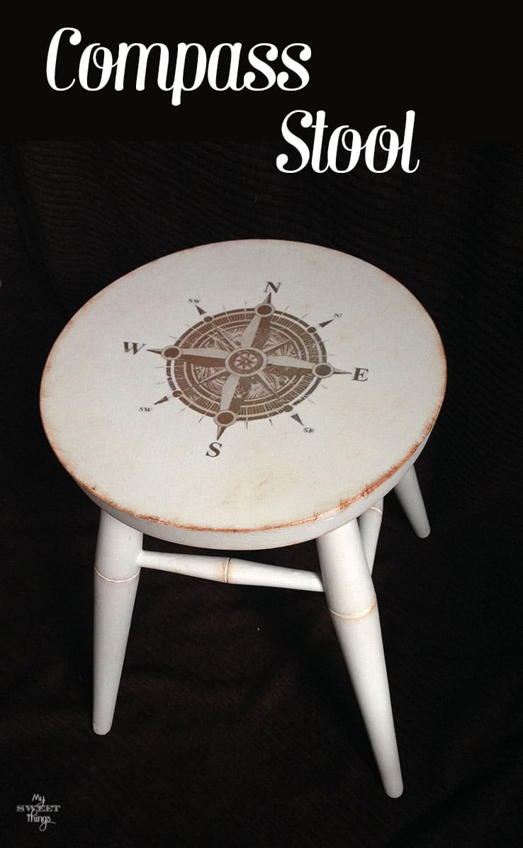 Compass Stool | Sweethings.net