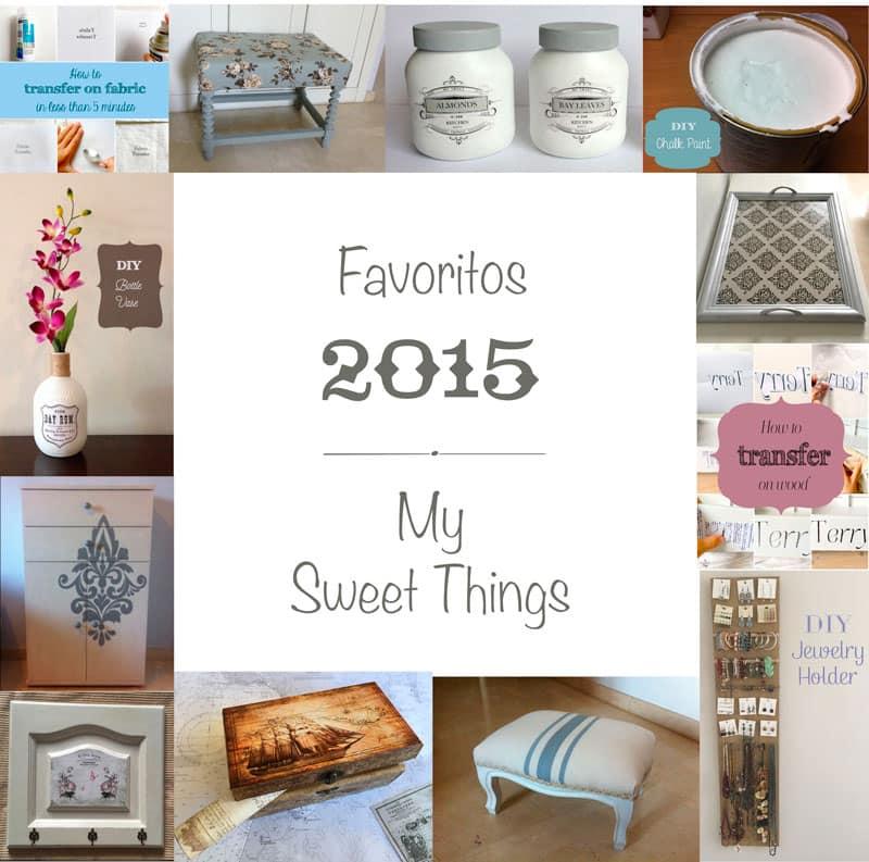 Complicación de proyectos del 2015   Via www.sweethings.net