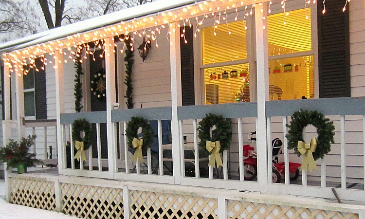 Porch makeover for less than $30