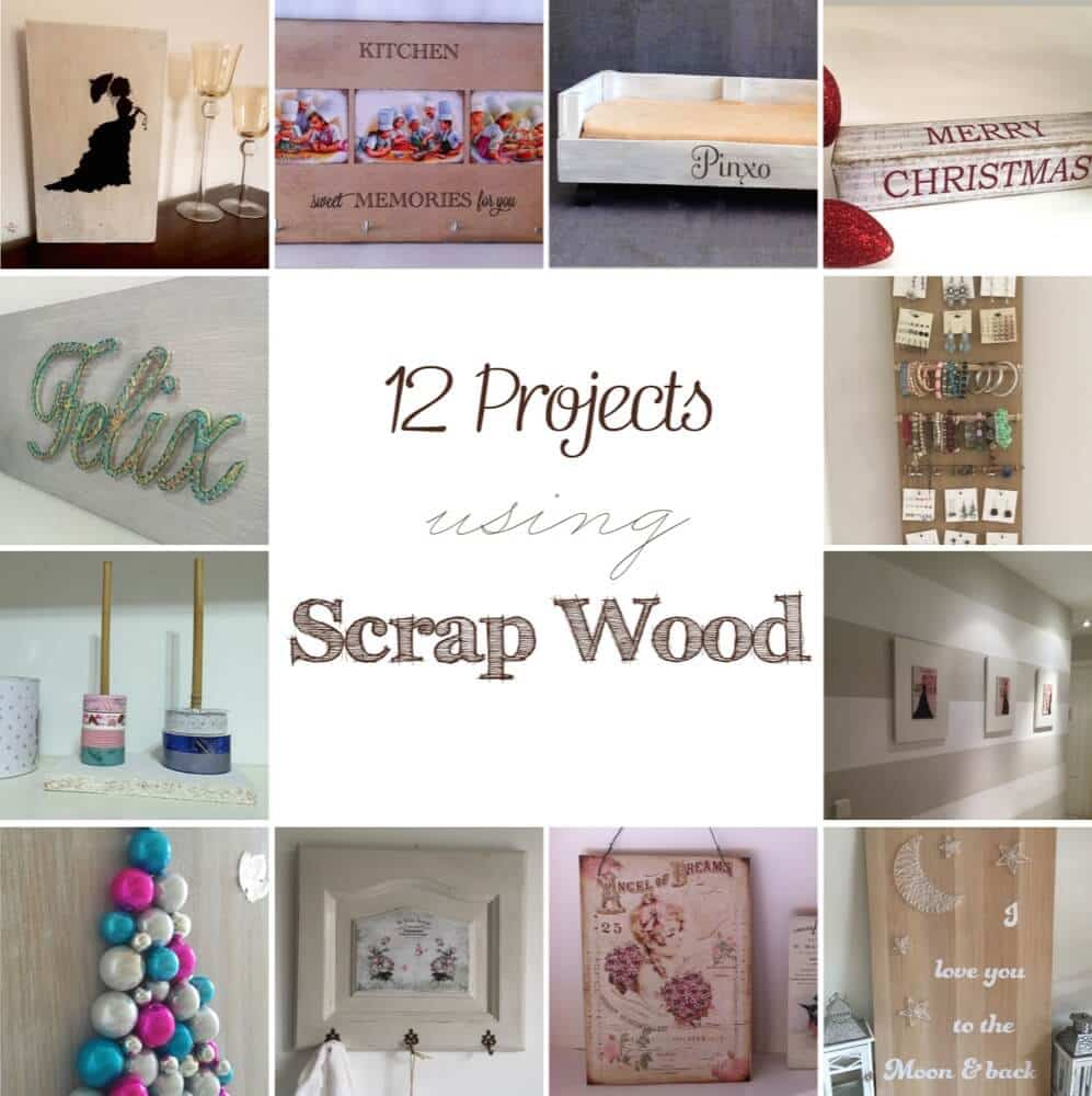 12 easy and cheap projects you can do using scrap wood
