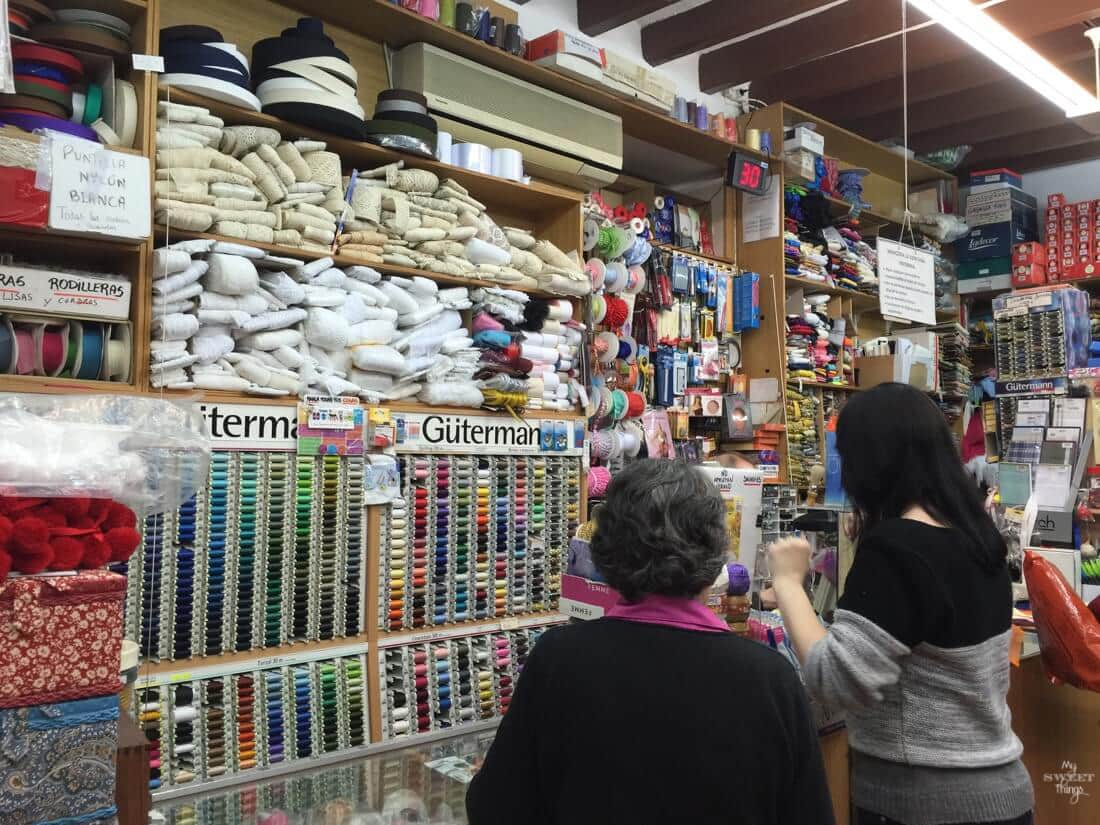 Shopping in Spain - Int'l Bloggers Club