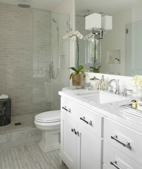 Pretty spa style bathroom