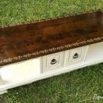 Coffee table repurposed