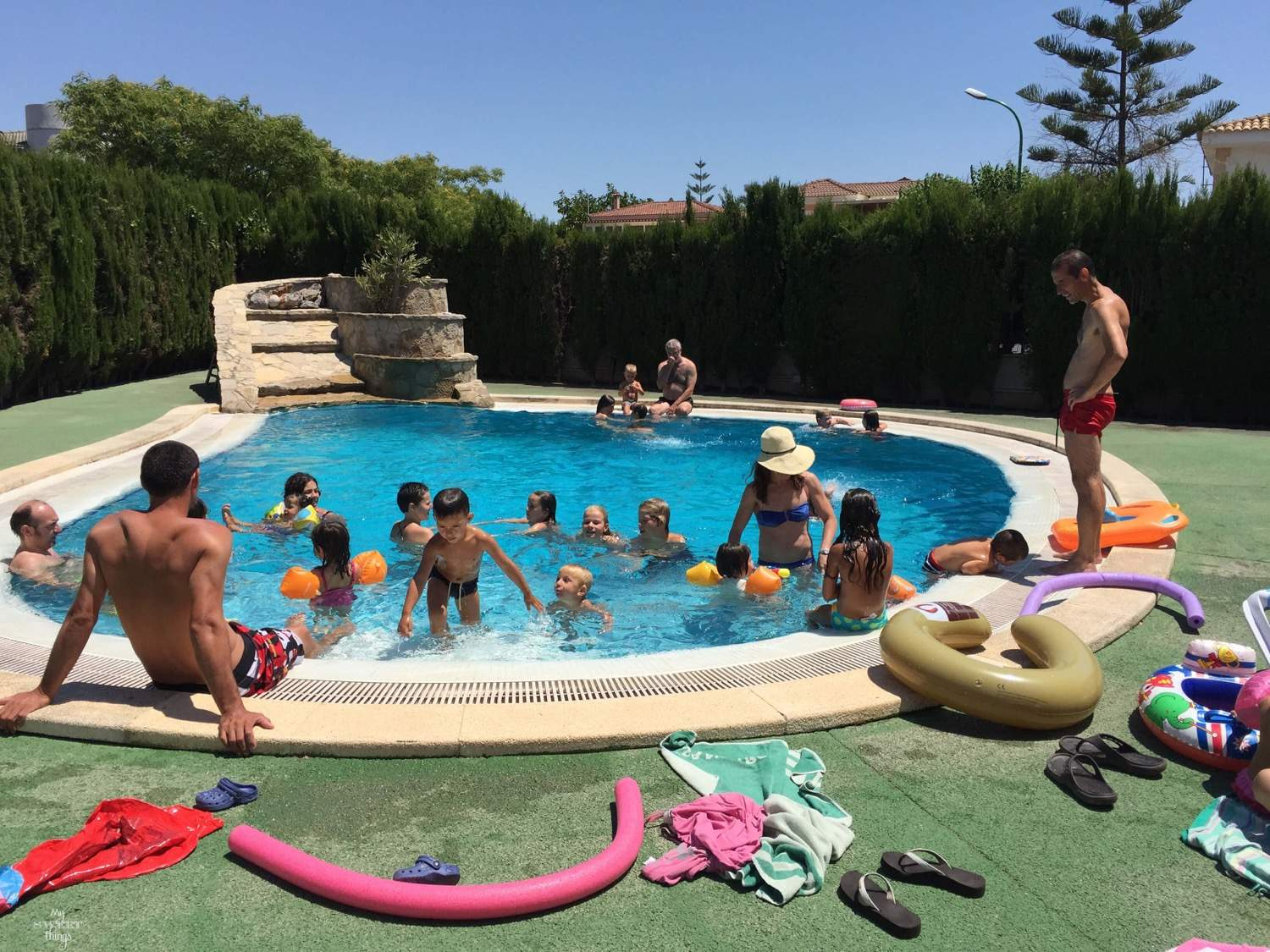 What to do in summer in Mallorca - Having fun at the pool