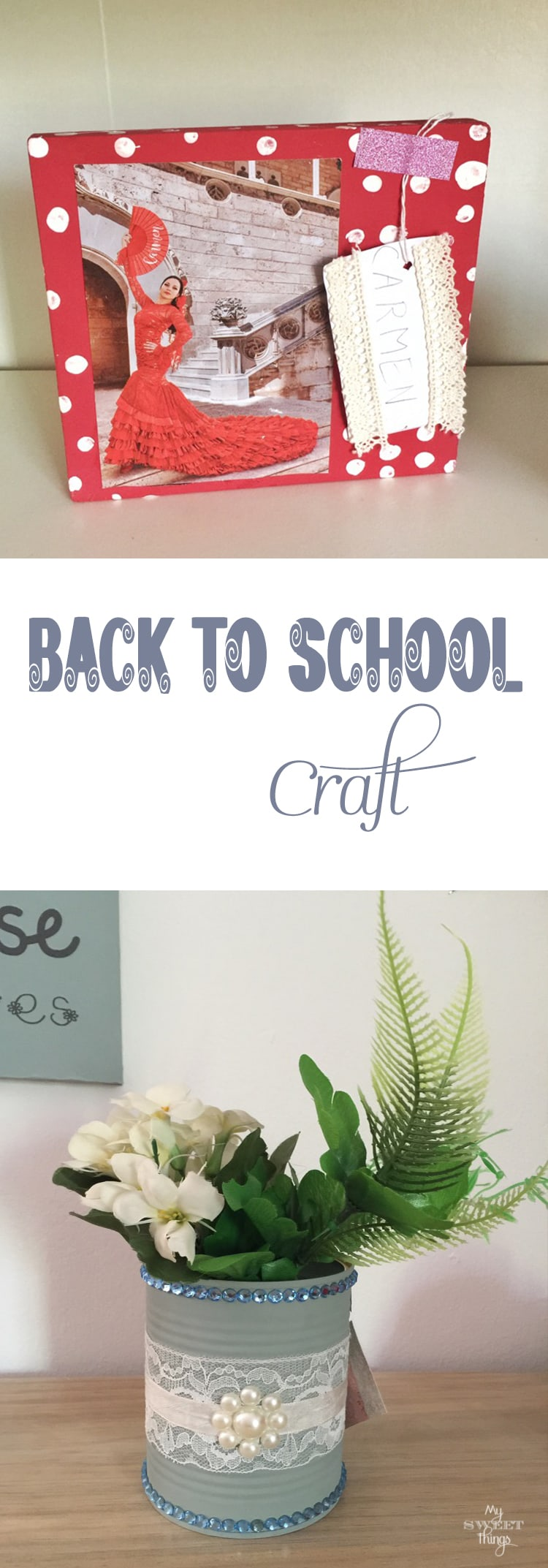 Back to School crafts Pin