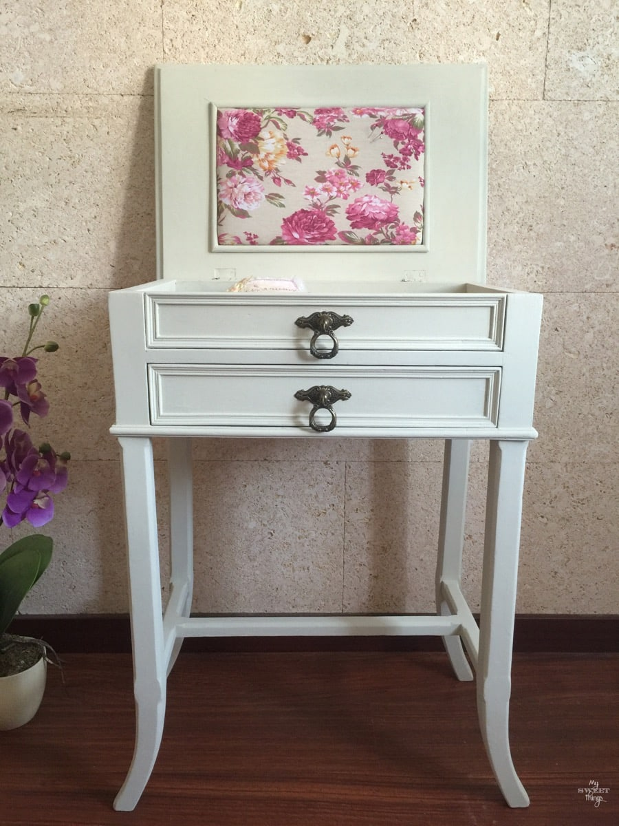 Sewing Cabinet Makeover 38