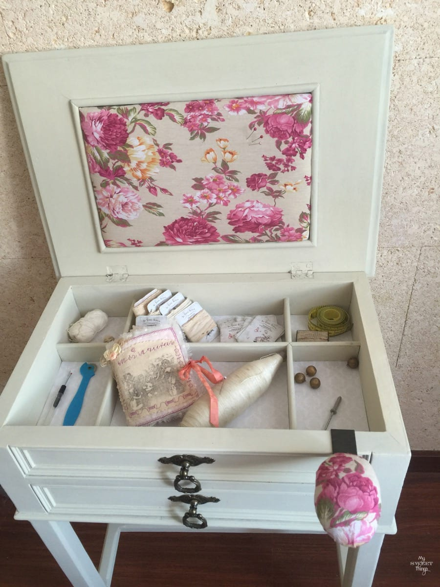 Sewing Cabinet Makeover 39