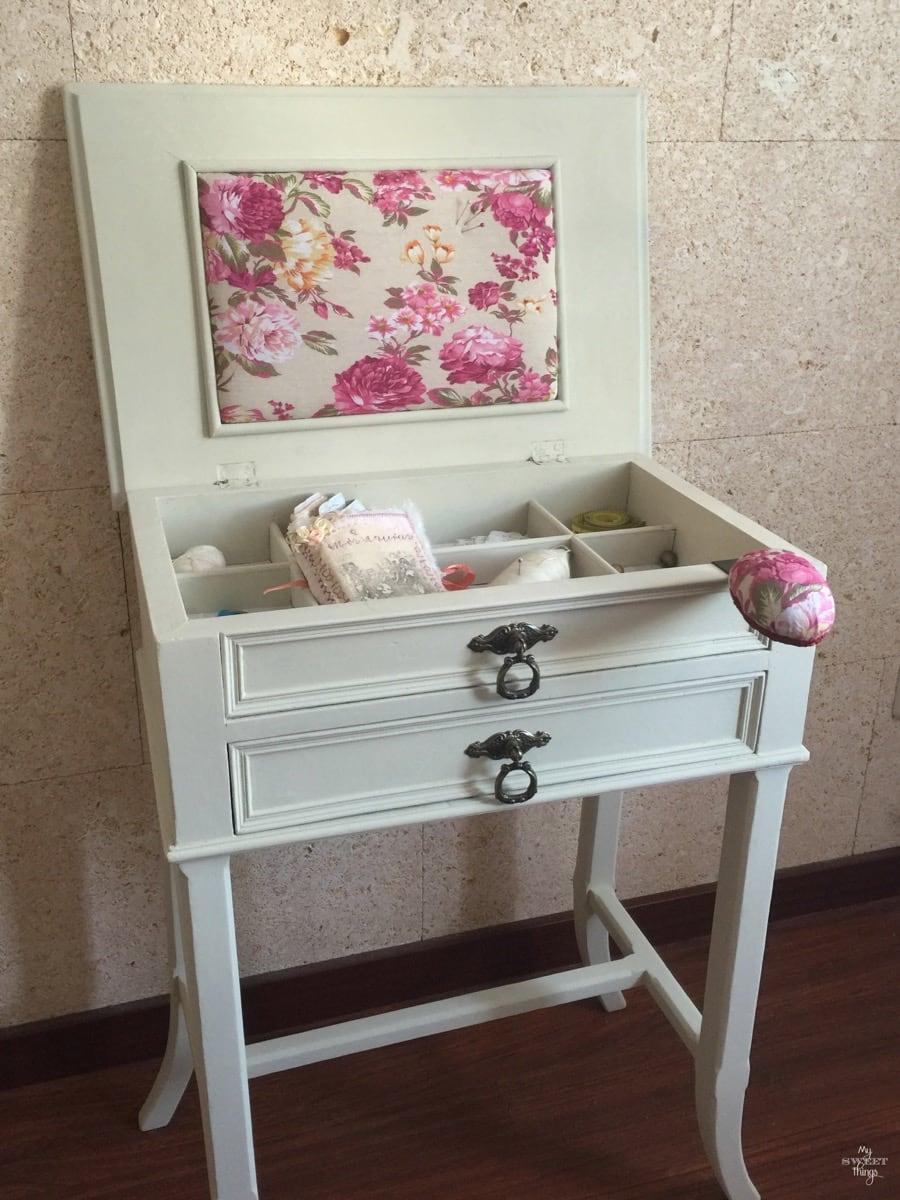 Sewing Cabinet Makeover 45
