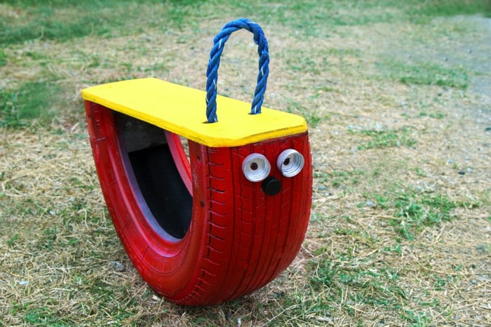 Kids rocker · 15 Different Uses For Tires · Some easy ideas to recycle old tires · Via www.sweethings.net