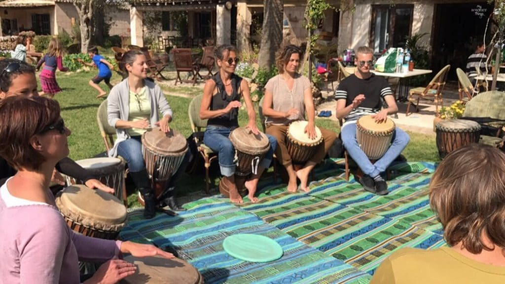 Some great ways to spend your 'Me Time' - Djembe session - Via www.sweethings.net