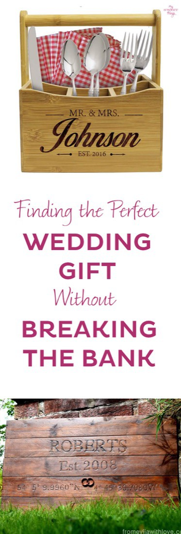 Finding the perfect wedding gift without breaking the bank · Via www.sweethings.net
