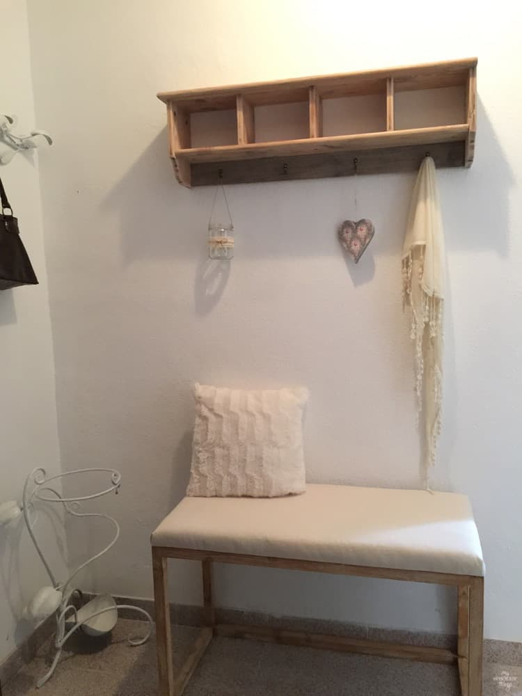 How to hack an Ikea shelf from plain to farmhouse style · Via www.sweethings.net
