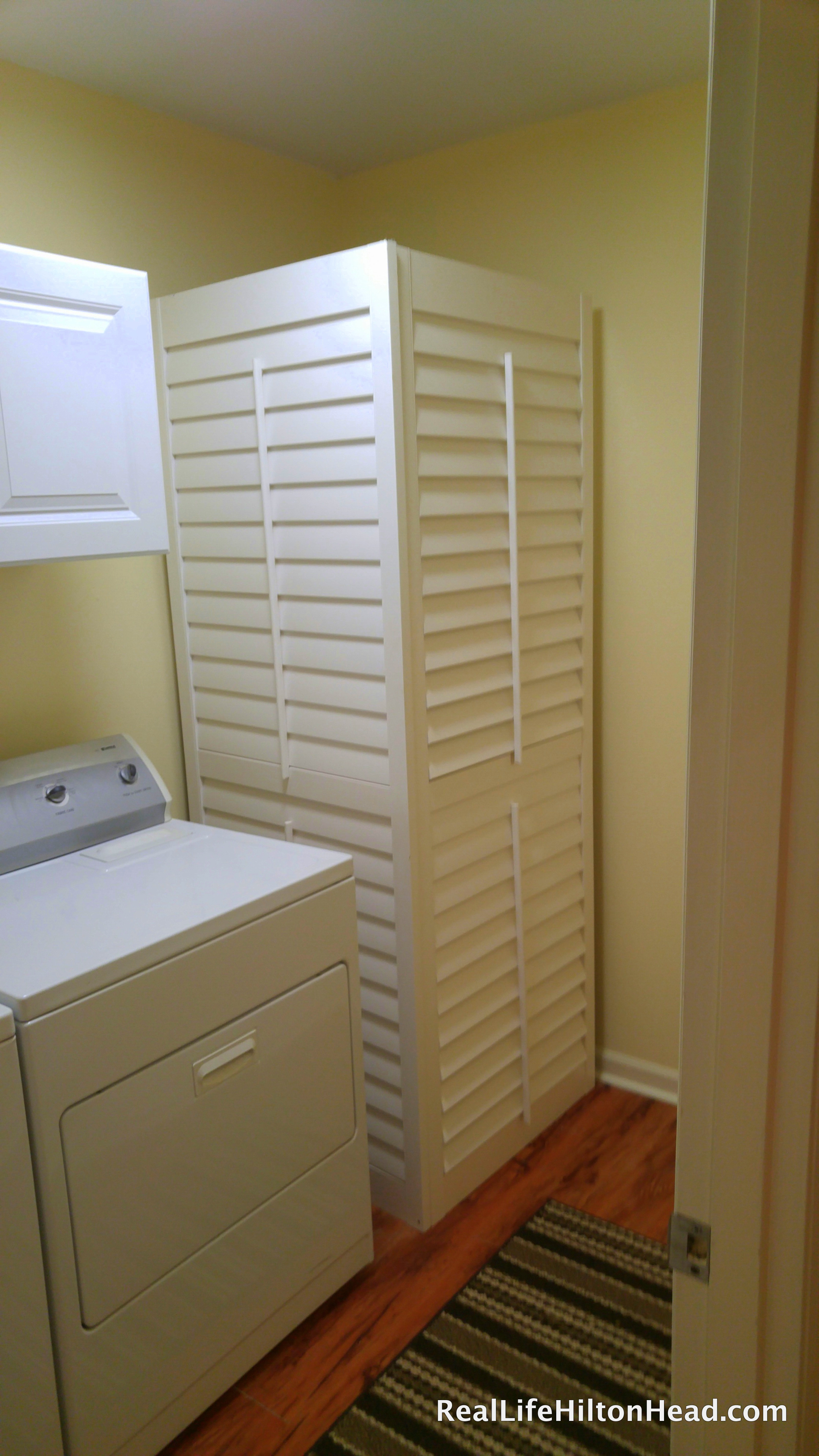 Common indicators of needing a new water heater and how to hide them   ·  Plantation shutters  ·  Via www.sweethings.net