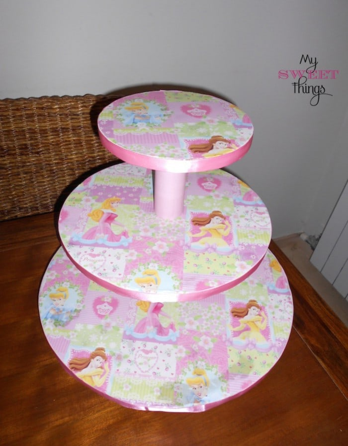 Torre para cupcakes my sweet things for Papel higienico mercadona