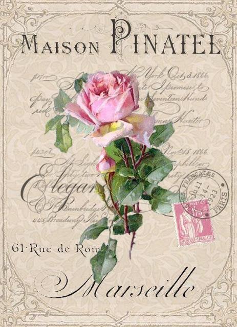 Bonitas imagenes vintage para decoupage y transfer · Via www.sweethings.net