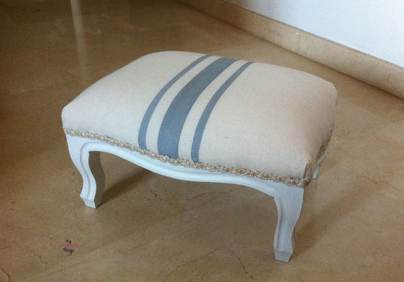 My 2015 Favorites   |   Foot Stool Makeover   |   Via www.sweethings.net