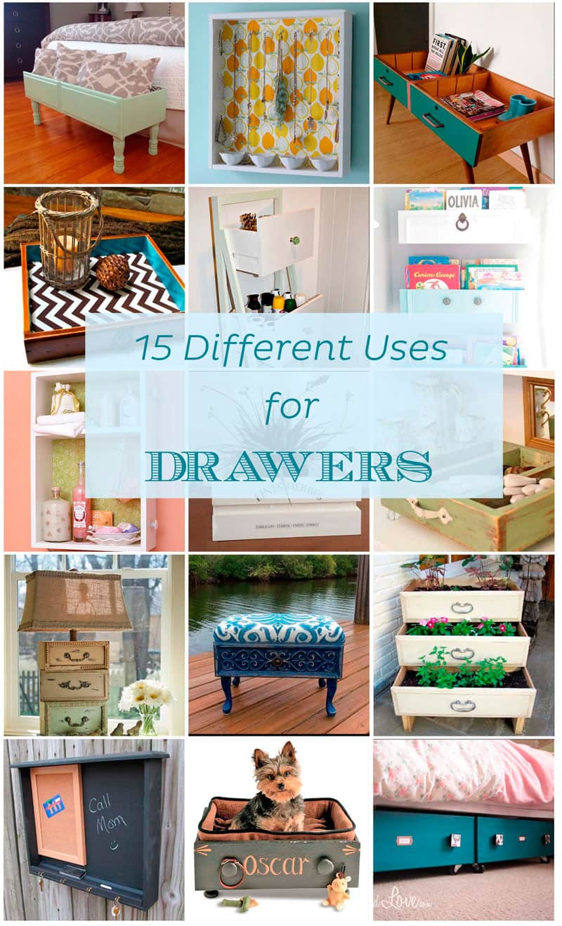 15 Different Uses for Drawers