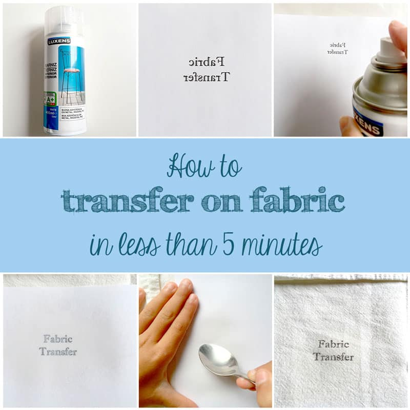 My 2015 Favorites   |   How to transfer on fabric in less than 5 minutes   |   Via www.sweethings.net