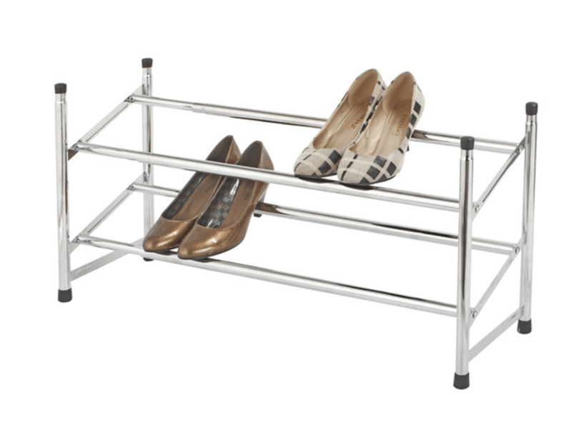Shoe rack | Storage solution | Via www.sweethings.net