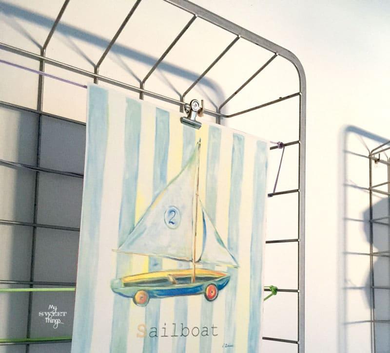 Metallic Drawers Repurposed | Wire | Ikea Hack | Via www.sweethings.net