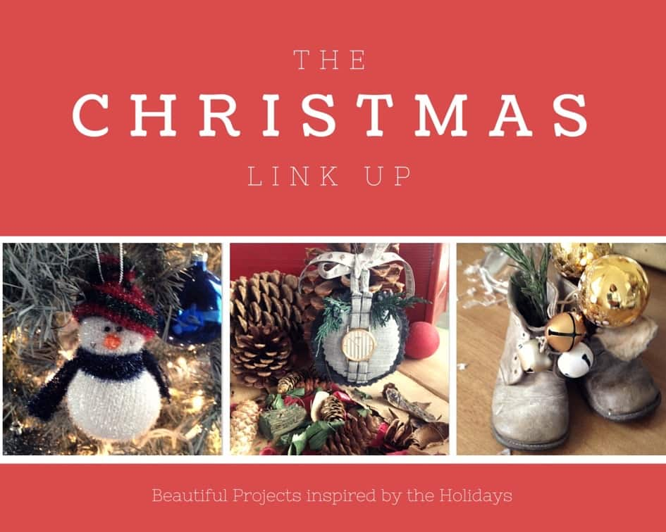The Christmas Link Up | Beautiful DIY & projects inspired by the holidays | Via www.sweethings.net