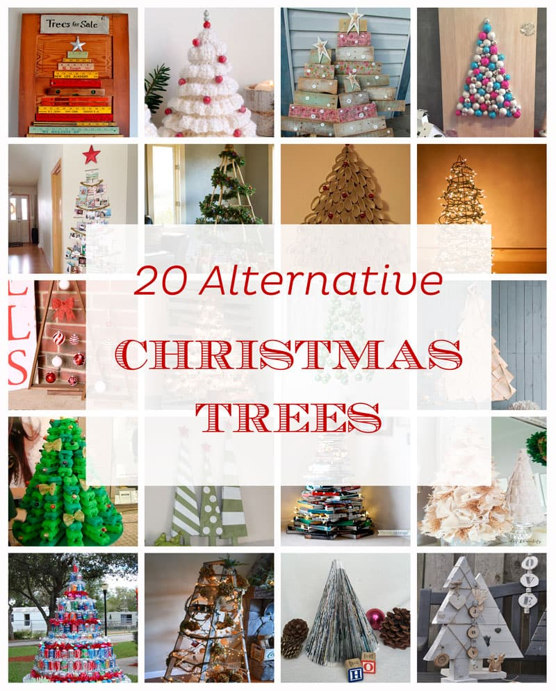 20 Alternative Christmas Trees