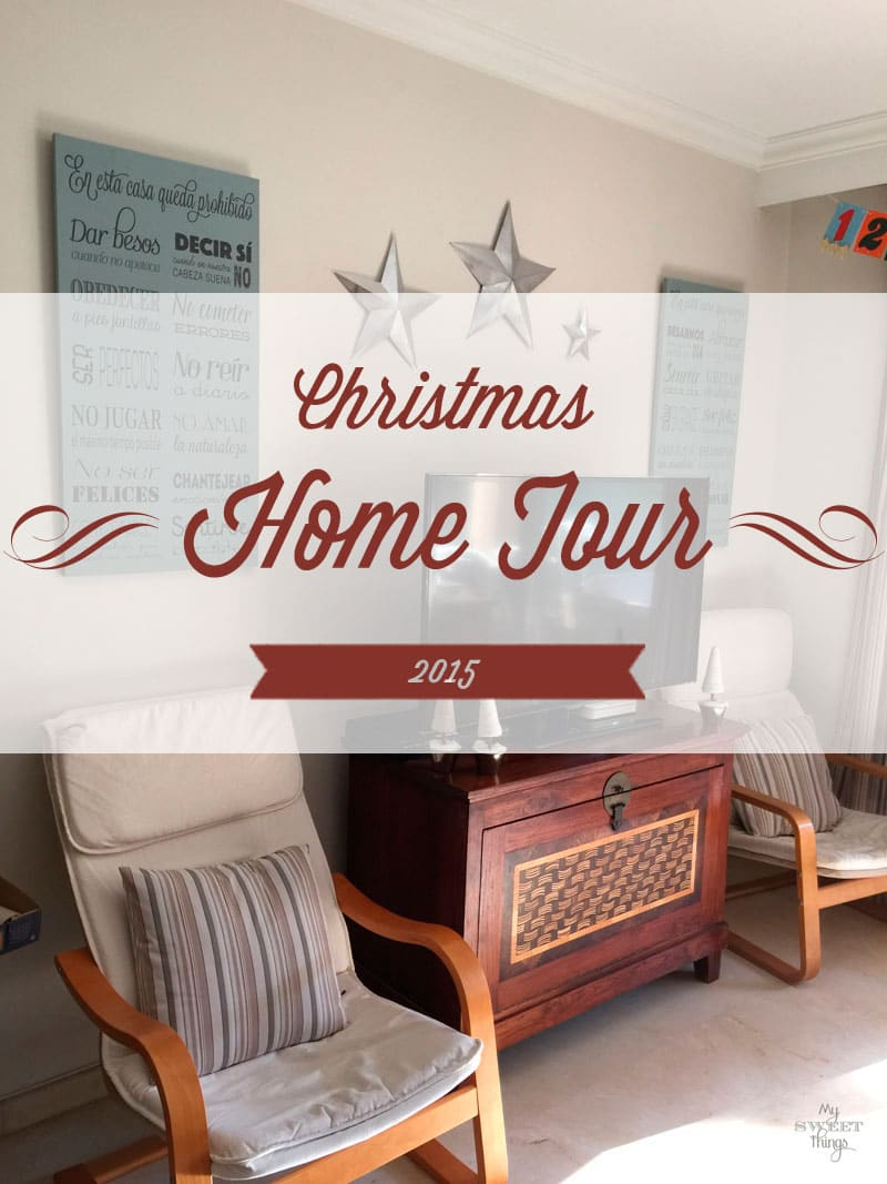 Christmas Home Tour 2015 | Via www.sweethings.net