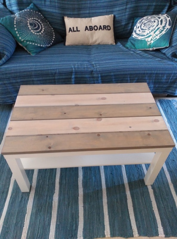 Coffee Table Ikea Hack   ·  Rincón de los lectores  ·  Via www.sweethings.net