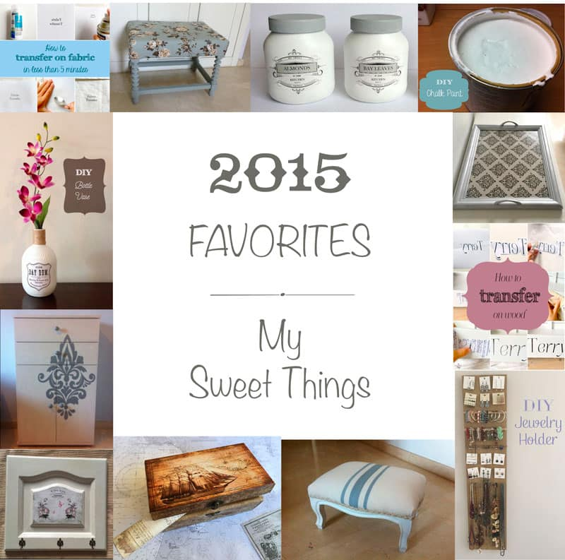 My 2015 Favorites   |   Via www.sweethings.net