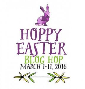 Easter Bog Hop Button