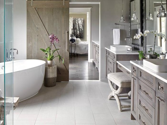 Pretty spa style bathroom
