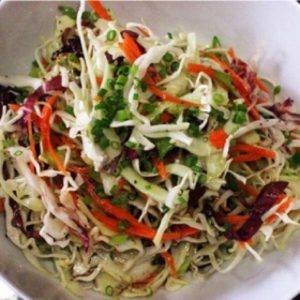 Healthy and delicious Vinegar Cole Slaw