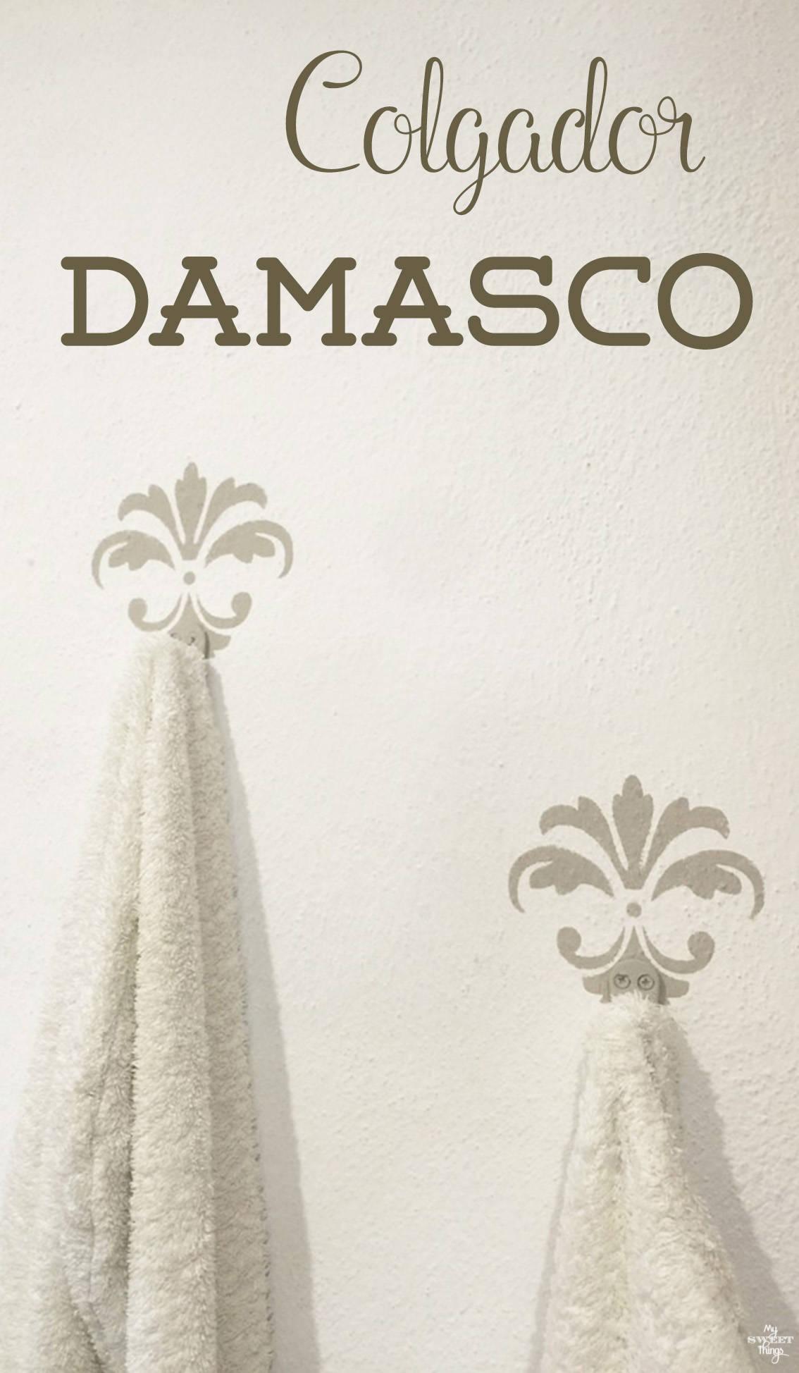 Colgador Damasco