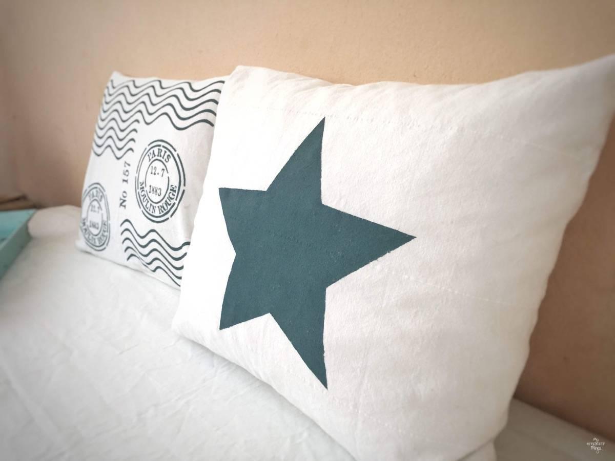 DIY Star Envelope Pillow Cover