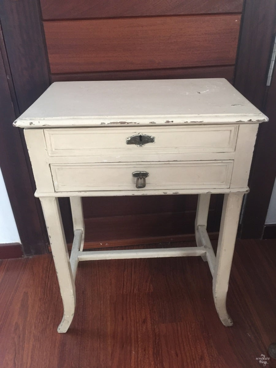 Sewing Cabinet Makeover 2