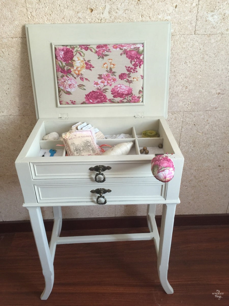 Sewing Cabinet Makeover 43