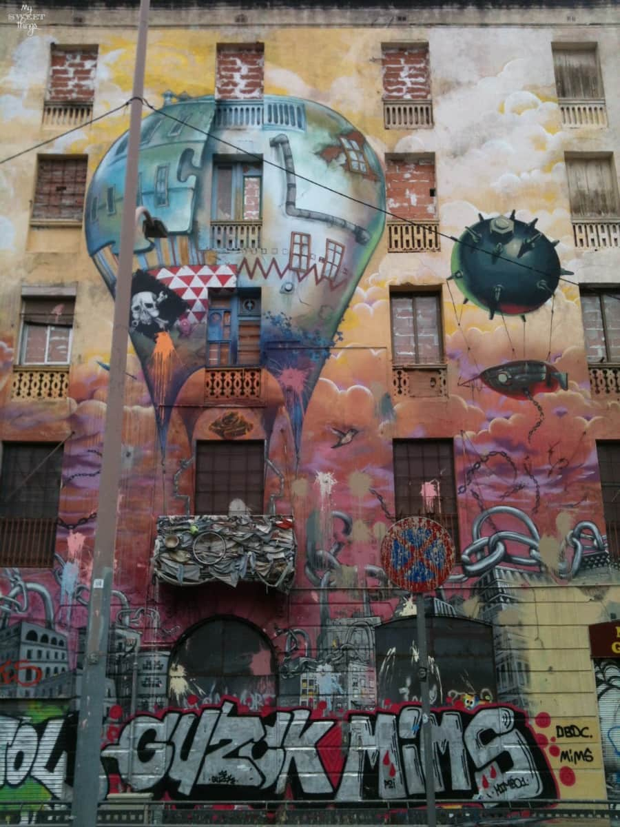 A trip to Barcelona · Street Wall Art · www.sweethings.net