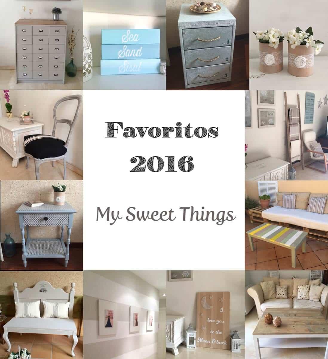 Favoritos del 2016 · My Sweet Things · Un blog de DIY y decoración low cost