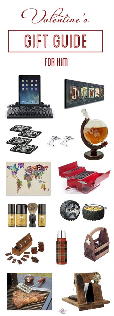 Valentine's Day and all occasions gift guide for men - www.sweethings.net