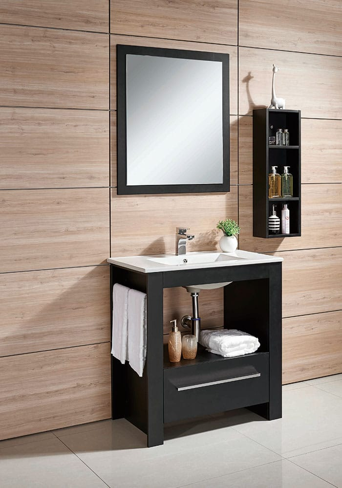 How to choose the right bathroom vanity set · Via www.sweethings.net