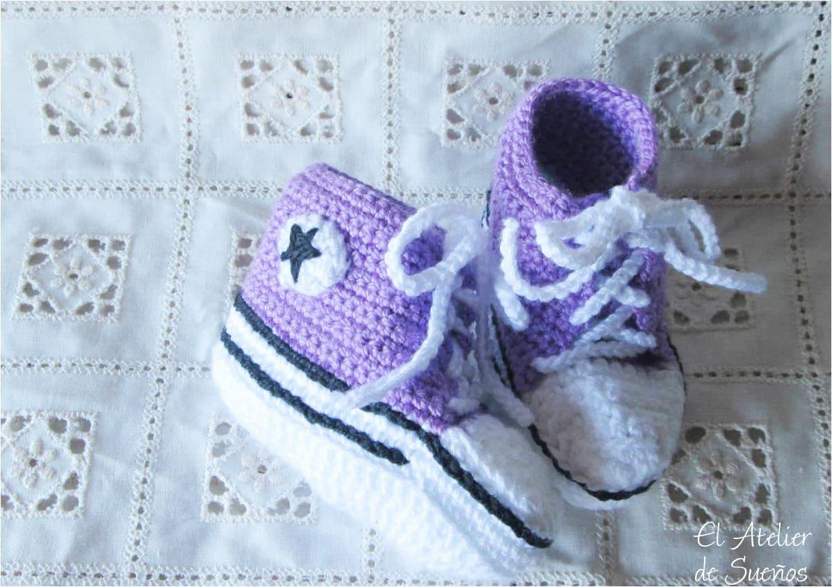 Creaciones artesanas únicas, el valor de los artesanos · Botitas de crochet · Via www.sweethings.net