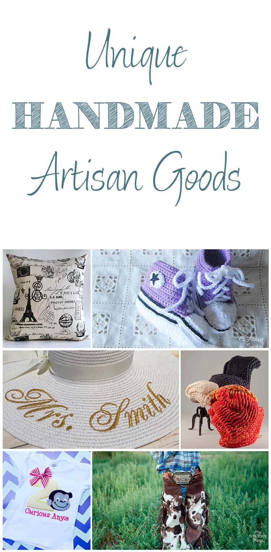 Unique Handmade Artisan Goods · Via www.sweethings.net