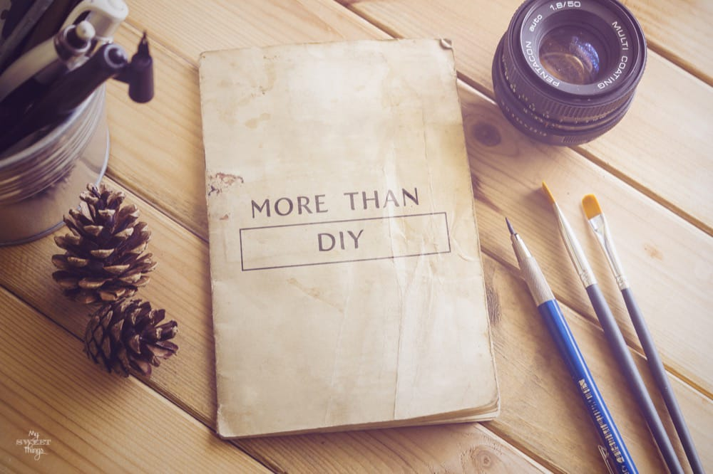 More Than DIY Projects: How to Better Take Advantage of Your Time  ·  Via www.sweethings.net