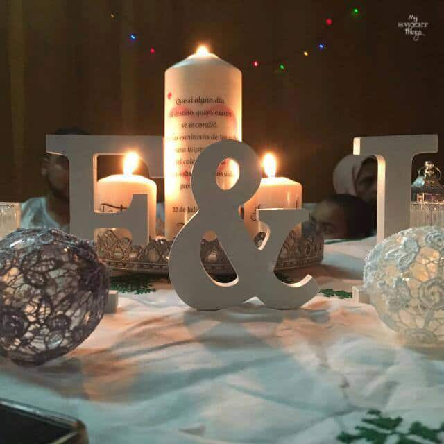 Wedding trends 2017 · Night wedding ideas with candles · Via www.sweethings.net