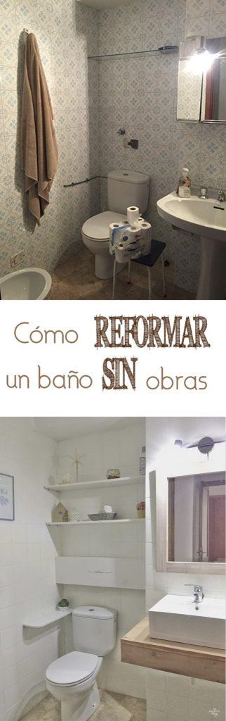 Como transformar y renovar un baño sin obras · Via www.sweethings.net
